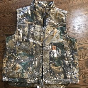 Carhartt Thinsulate Realtree vest NWT